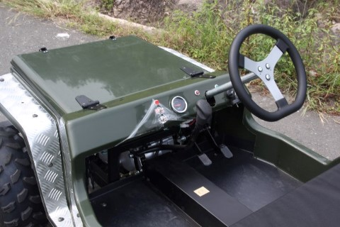 Mini Jeep Willys Go Kart